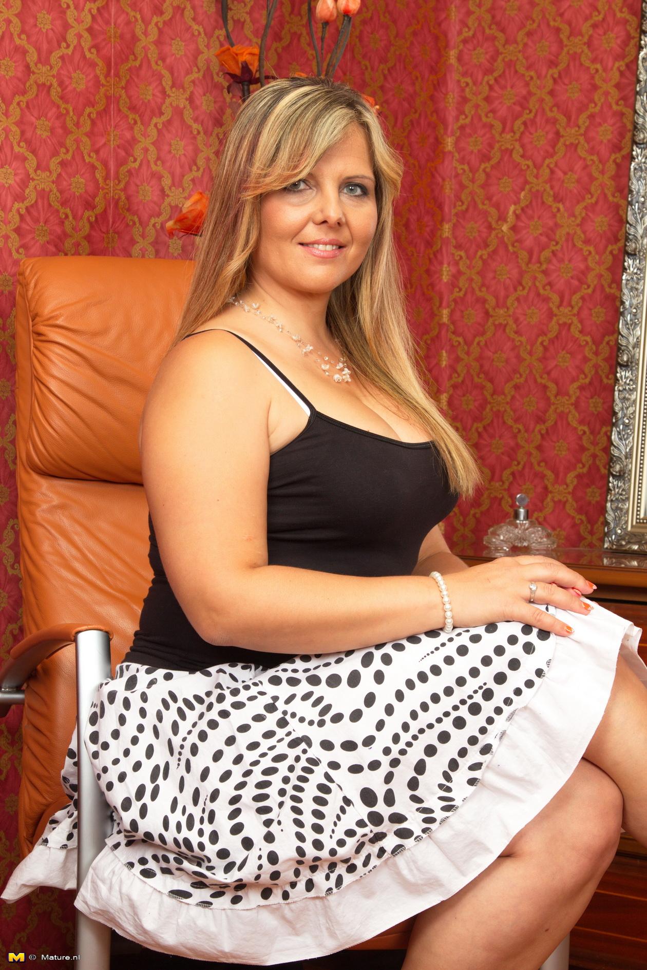 Housewife big breasted